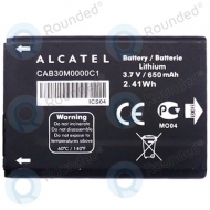 Alcatel CAB30M0000C1, CAB2210001C1 Battery 650mAh CAB30M0000C1