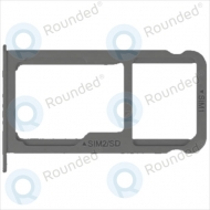 Huawei P9 Plus Sim tray + MicroSD tray black
