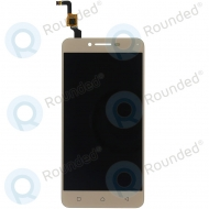 Lenovo Vibe K5 Plus Display module LCD + Digitizer gold