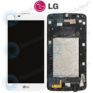 LG K7 (X210) Display unit complete white EAT63399901 EAT63399901