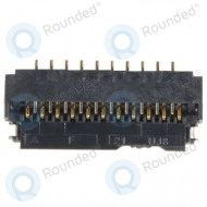 Samsung 3708-003254 Board connector / Display LCD socket 21pin 3708-003254