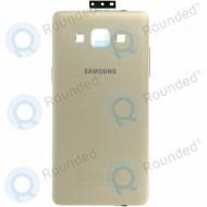Samsung Galaxy A5 (SM-A500F) Battery cover gold GH96-08241F