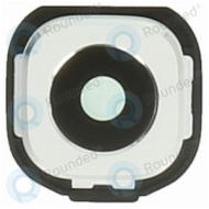 Samsung Galaxy Tab S2 8.0 (SM-T710, SM-T715) Camera frame incl. Camera lens white GH98-37511B
