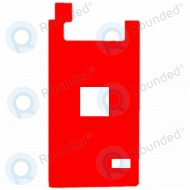 Apple iPhone 7 Plus Adhesive sticker LCD backlight film red