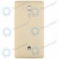 Huawei Mate 8 Back cover gold incl. fingerprint sensor