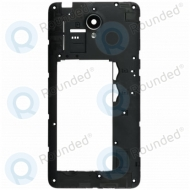 Huawei Y635 (Y635-L21) Middle cover + Camera lens black 02350HKC