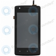 Lenovo A1000 Display module frontcover+lcd+digitizer black