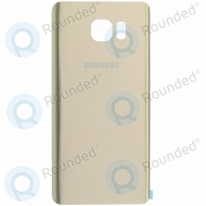 Samsung Galaxy Note 5 (SM-N920) Battery cover gold GH82-10507A