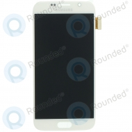 Samsung Galaxy S6 (SM-G920F) Display unit complete white GH97-17260B GH97-17260B