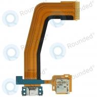 Samsung Galaxy Tab S 10.5 (SM-T800, SM-T805) Charging connector flex incl. Sim reader GH59-13985A