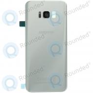 Samsung Galaxy S8 Plus (SM-G955F) Battery cover silver GH82-14015B