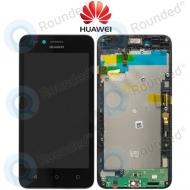 Huawei Y3 II 2016 3G (LUA-U22) Display module frontcover+lcd+digitizer black 97070NNC 97070NNC