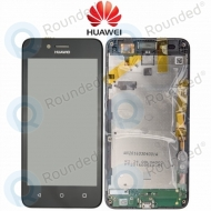 Huawei Y3 II 2016 4G (LUA-L21) Display module frontcover+lcd+digitizer black 97070NBA