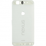 Huawei Nexus 6P Back cover white Middle cover, back cover, rear cover.