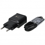 Samsung Fast travel charger EP-TA20EBE  2A incl. USB type-C data cable EP-DG950CBE 1.2m black