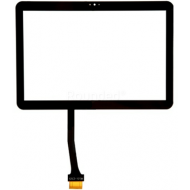 Samsung Galaxy Tab 10.1v P7100 display touchscreen, digitizer touchpanel black spare part 125C3-1015M