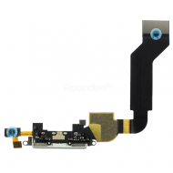 Apple iPhone 4S docking connector, system connector white spare part 821-1301-A