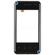 LG E720 Optimus Chic display touchscreen, digitizer touchpanel black spare part AB0210
