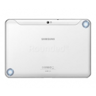 Samsung P7300 Galaxy Tab 8.9 battery cover, battery housing white spare part 7320