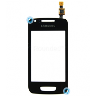 Samsung S5380 Wave Y display touchscreen, digitzer screen black spare part TOUCHSCR