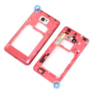 Samsung i9100 Galaxy S 2 Back Cover Pink