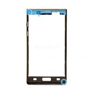 LG P700 Optimus L7 front cover, front frame black spare part PC-GB3