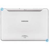 Samsung Galaxy Tab 10.1 P7500 battery cover, rear housing white spare part PC-GF20 #5