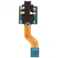 Samsung Galaxy Tab 10.1 P7500 earphone jack flex cable, 3.5mm audio port cable spare part IN4-136