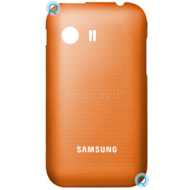 Samsung S5360 Galaxy Y battery cover, battery housing orange spare part BATTC