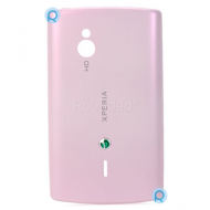 Sony Ericsson SK17i Xperia Mini Pro battery cover, battery housing pink spare part 1246.5147