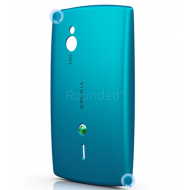 Sony Ericsson SK17i Xperia Mini Pro battery cover, battery housing turquoise spare part 1246-5149