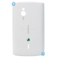 Sony Ericsson SK17i Xperia Mini Pro battery cover, battery housing white spare part 1245.0292