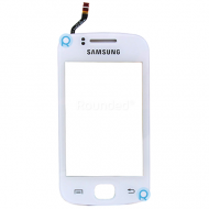 Samsung S5660 Galaxy Gio display touchscreen, digitizer touchpanel white spare part SHW-M2905