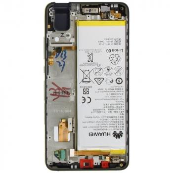 Huawei Honor 7i Display module frontcover+lcd+digitizer + battery blue 02350NSJ 02350NSJ image-2