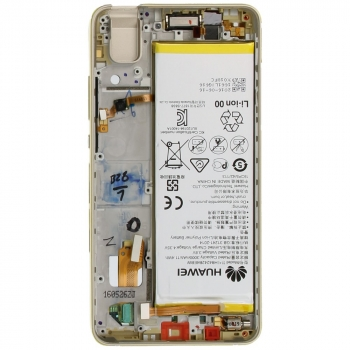 Huawei Honor 7i Display module frontcover+lcd+digitizer + battery gold 02350NBK 02350NBK image-2