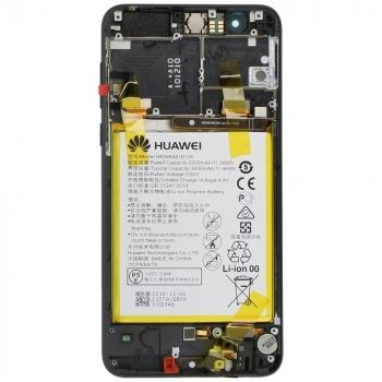 Huawei Honor 8 Display module frontcover+lcd+digitizer + battery black 02350VAS 02350VAS image-2