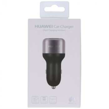 Huawei Honor AP31 Dual USB car chager 9V 2A - 5V 1A incl. USB data cable type-C black-grey   image-16