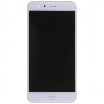 Huawei P10 Lite Display module frontcover+lcd+digitizer white Display digitizer, touchpanel incl. frontcover.  image-1