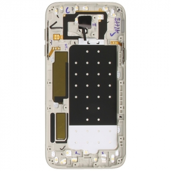 Samsung Galaxy J5 2017 (SM-J530F) Battery cover with Duos logo gold GH82-14584C GH82-14584C image-1