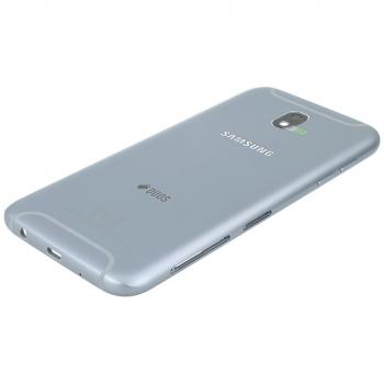 Samsung Galaxy J5 2017 (SM-J530F) Battery cover with Duos logo silver blue GH82-14584B GH82-14584B image-2