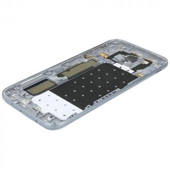 Samsung Galaxy J5 2017 (SM-J530F) Battery cover with Duos logo silver blue GH82-14584B GH82-14584B image-4