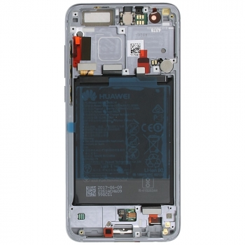 Huawei Honor 9 (STF-L09) Display module frontcover+lcd+digitizer+battery silver grey 02351LCD 02351LCD image-7