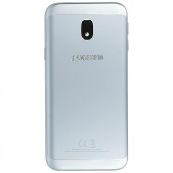 Samsung Galaxy J3 2017 (SM-J330F) Battery cover silver blue GH82-14890B GH82-14890B