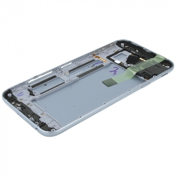 Samsung Galaxy J3 2017 (SM-J330F) Battery cover silver blue GH82-14890B GH82-14890B image-4