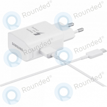 Samsung Fast travel charger EP-TA300CWEGWW incl. microUSB data cable type-C white   image-3