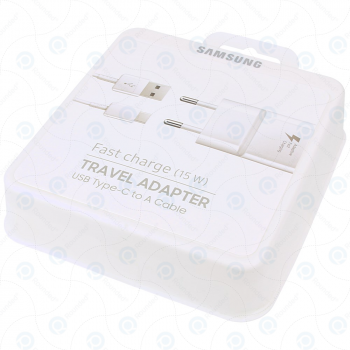 Samsung Fast travel charger 2000mAh incl. USB data cable type-C white (EU Bister) EP-TA20EWECGWW_image-2