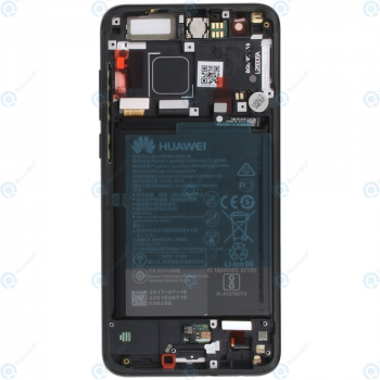 Huawei Honor 9 (STF-L09) Display module frontcover+lcd+digitizer+battery black 02351LGK_image-1