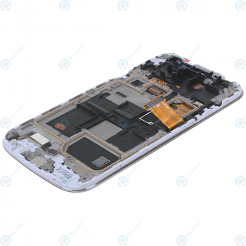 Samsung Galaxy S4 Mini (GT-I9195) Display unit complete white la fleur GH97-15541B_image-1