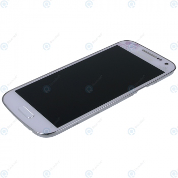 Samsung Galaxy S4 Mini (GT-I9195) Display unit complete white la fleur GH97-15541B_image-3