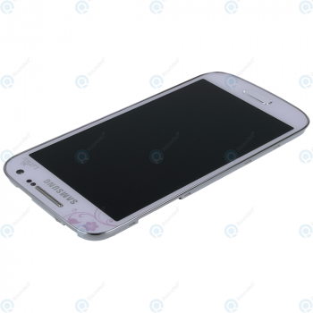 Samsung Galaxy S4 Mini (GT-I9195) Display unit complete white la fleur GH97-15541B_image-4